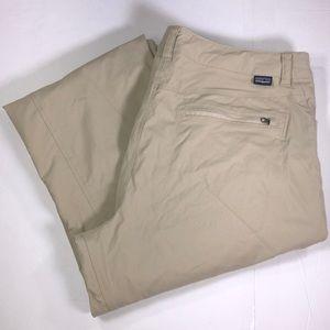 Patagonia women's cargo khaki pants size 12